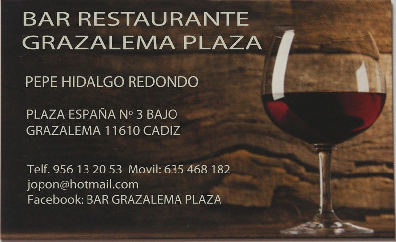 Bar Restaurante Grazalema Plaza
